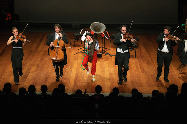 Preview image for our video : Un clown au pays de la musique classique #4 – NezRouge#Quatuor
